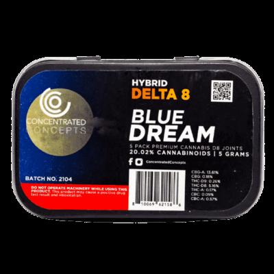 blue dream delta 8 preroll