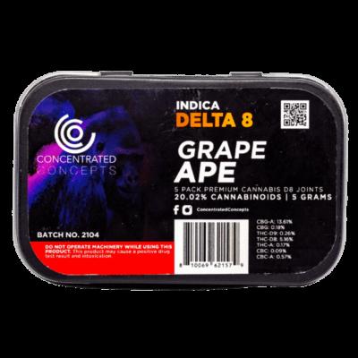 Grape ape D8 preroll
