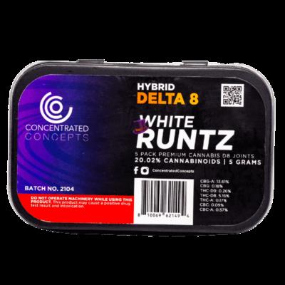 white runtz delta 8 joint